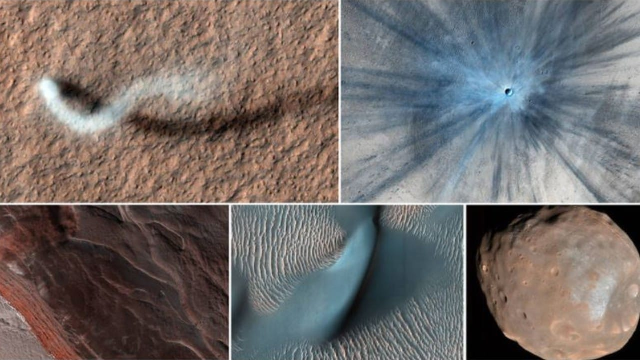 NASA publikon pamjet spektakolare nga planeti i kuq
