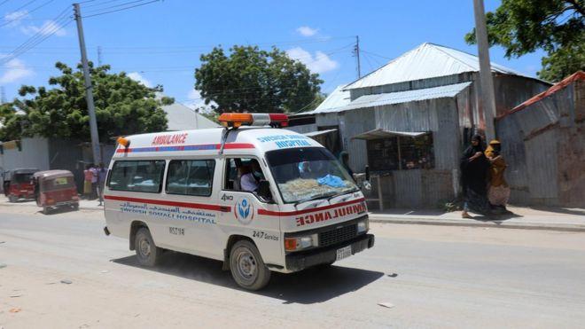 Sulm me bombë në bazën ushtarake, disa të vrarë në Somali
