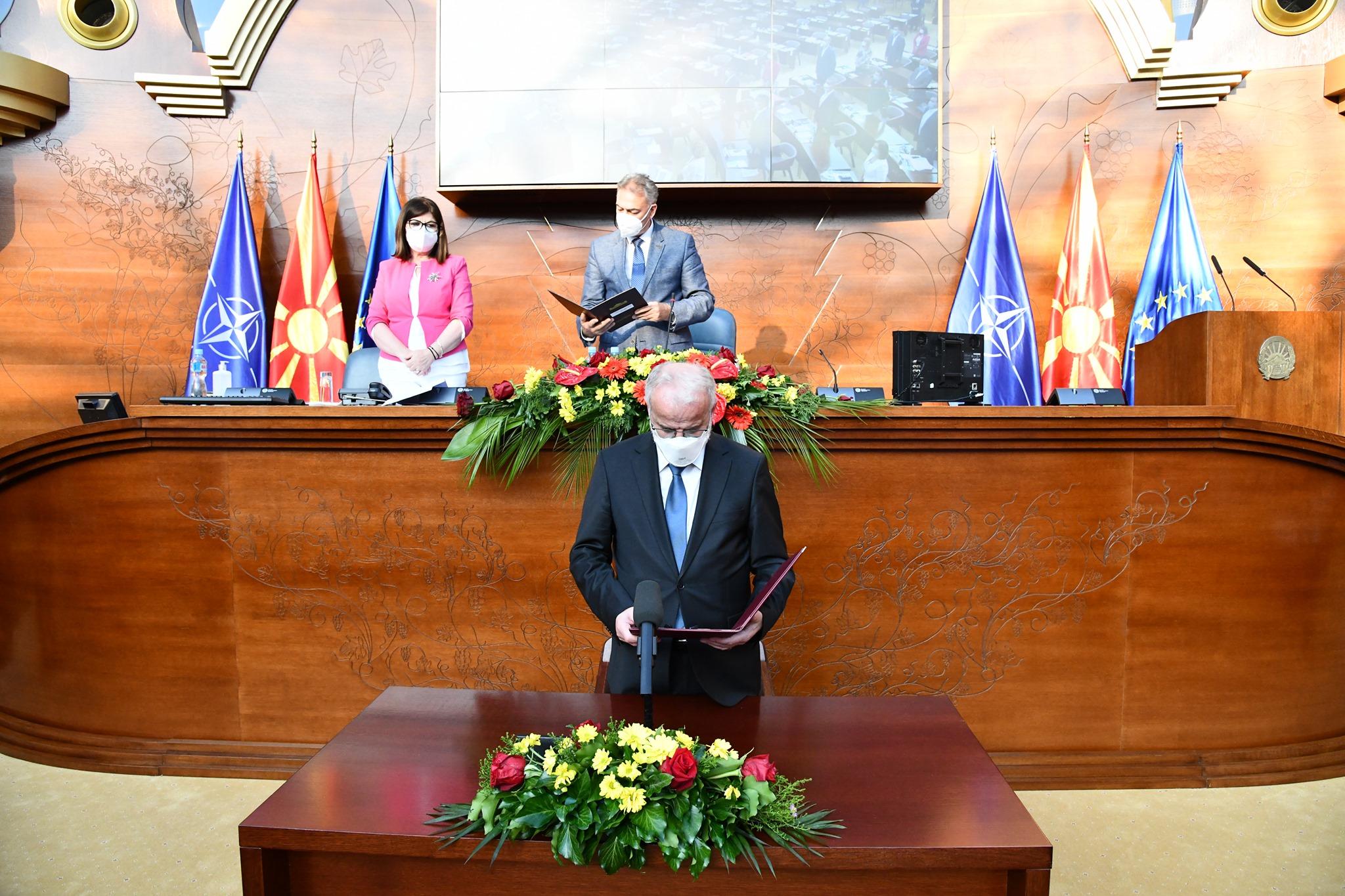 U rizgjodh në krye të Parlamentit në RMV, Xhaferi: Do të jem kryetar i të gjithë 120 deputetëve