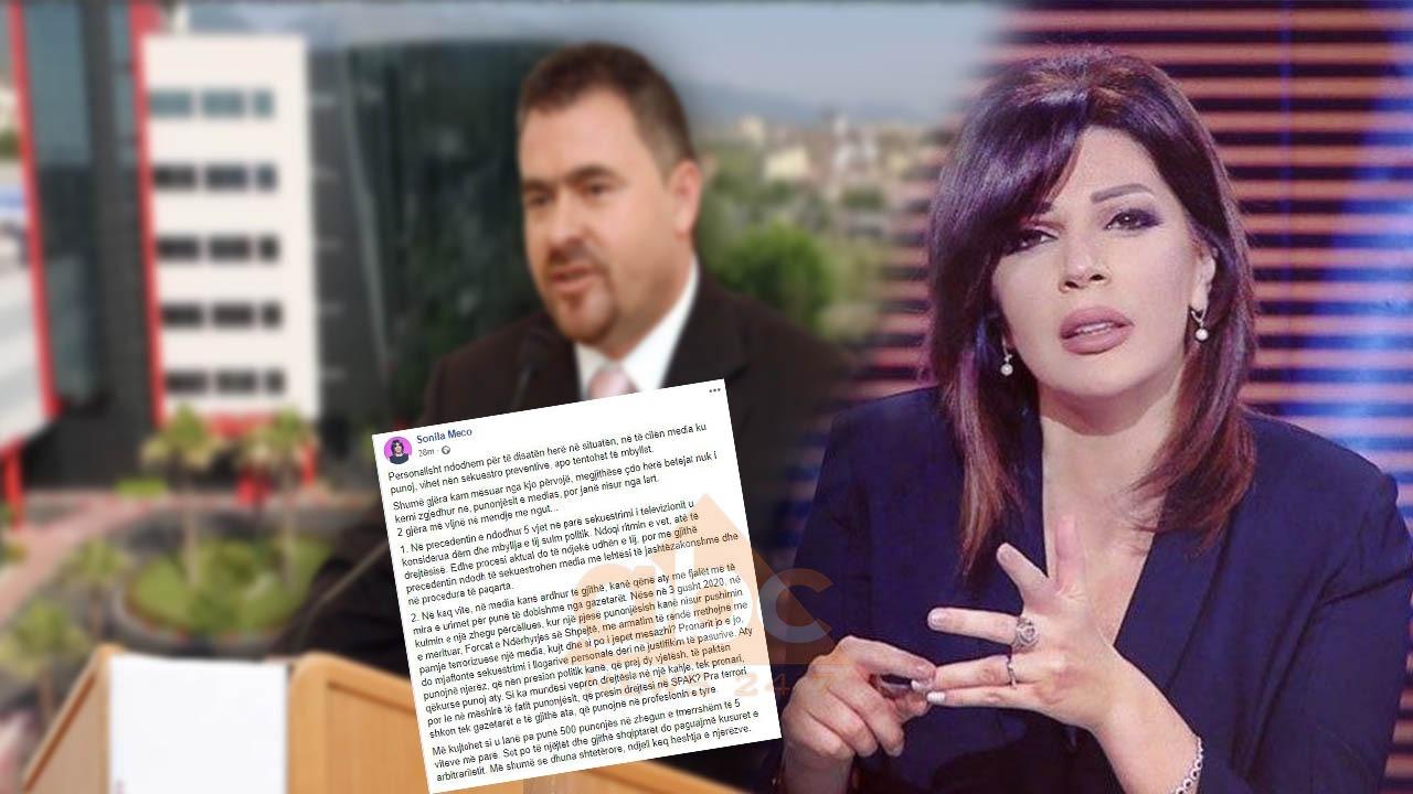 Ndroqit i sekuestrohen aksionet e televizionit, Meço: Pronarit jo, kujt dhe si po i jepet mesazhi?