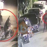 VIDEO/ Dy atentate brenda 7 ditëve, momenti kur dy persona qëllojnë në drejtim të hotelit në Pogradec