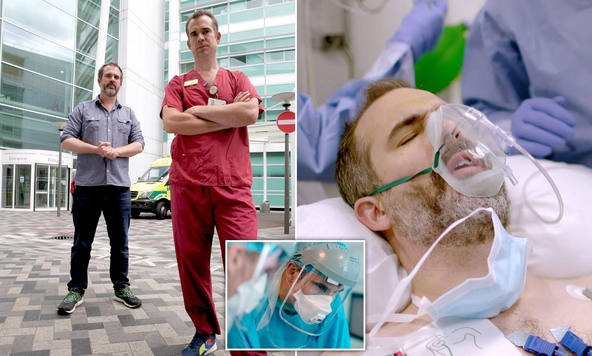 Mjeku në lot teksa zemra e vëllait të tij ndalon për disa sekonda si pasojë e Covid 19