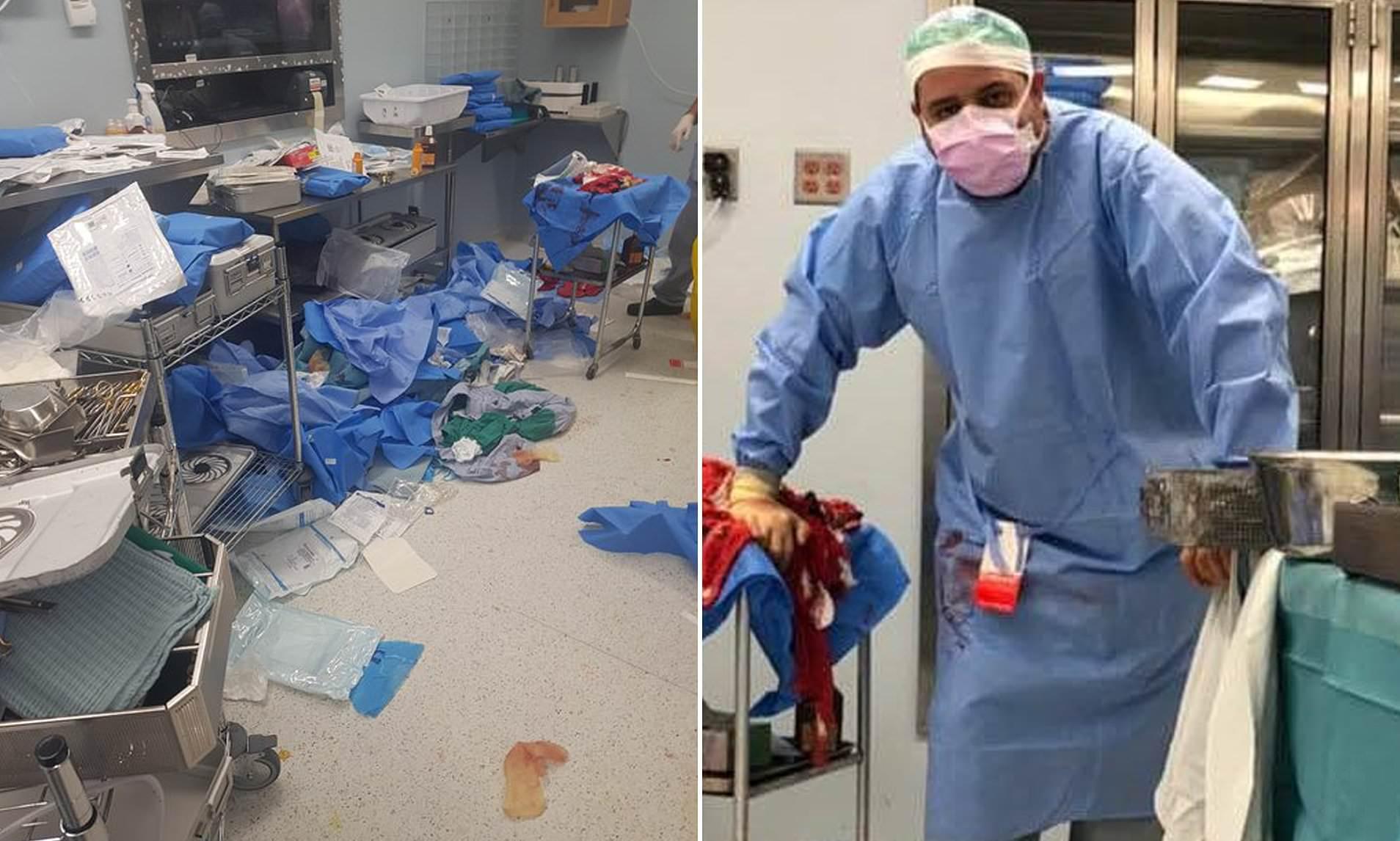 Turni 52 orësh i mjekut në Bejrut: Mes gjakut, plagëve, në një spital gjysmë të shkatërruar