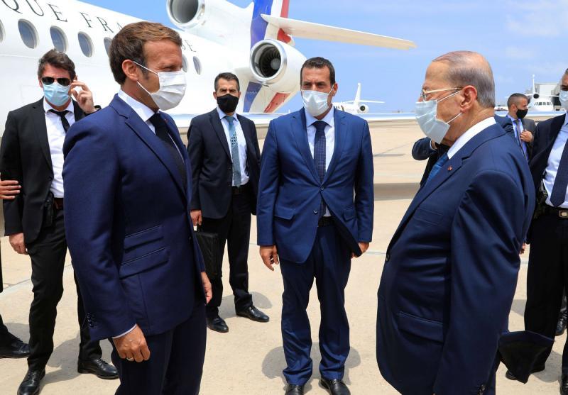 Macron viziton Bejrutin pas shpërthimit, bën thirrje për reforma