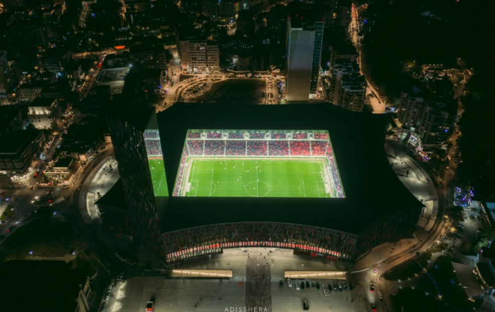 """Plani për fushën, """"Air Albania Stadium"""" me hallin e vjetër edhe kundër Anglisë"""
