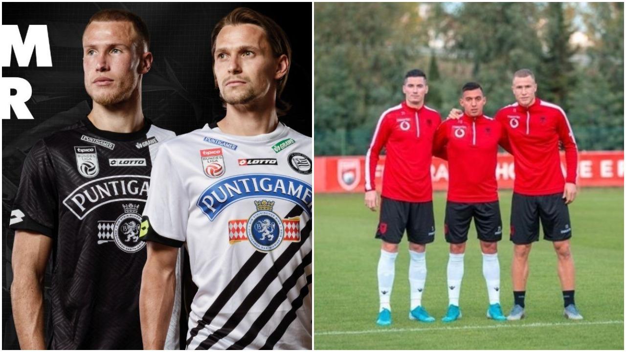 Balaj prezanton fanellat e reja të Sturm Graz, të shtunën përballet me Uzunin