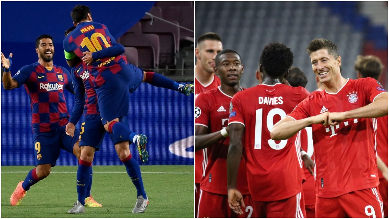 """VIDEO/ Mbrëmje që prodhoi 11 gola, Barcelona-Bayern """"finalja"""" e parakohshme në Champions"""