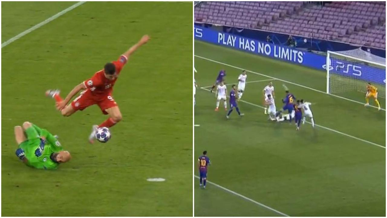 VIDEO/ Dy gola të shpejtë: Lewandowski ndëshkon londinezët, Barcelona nis festën