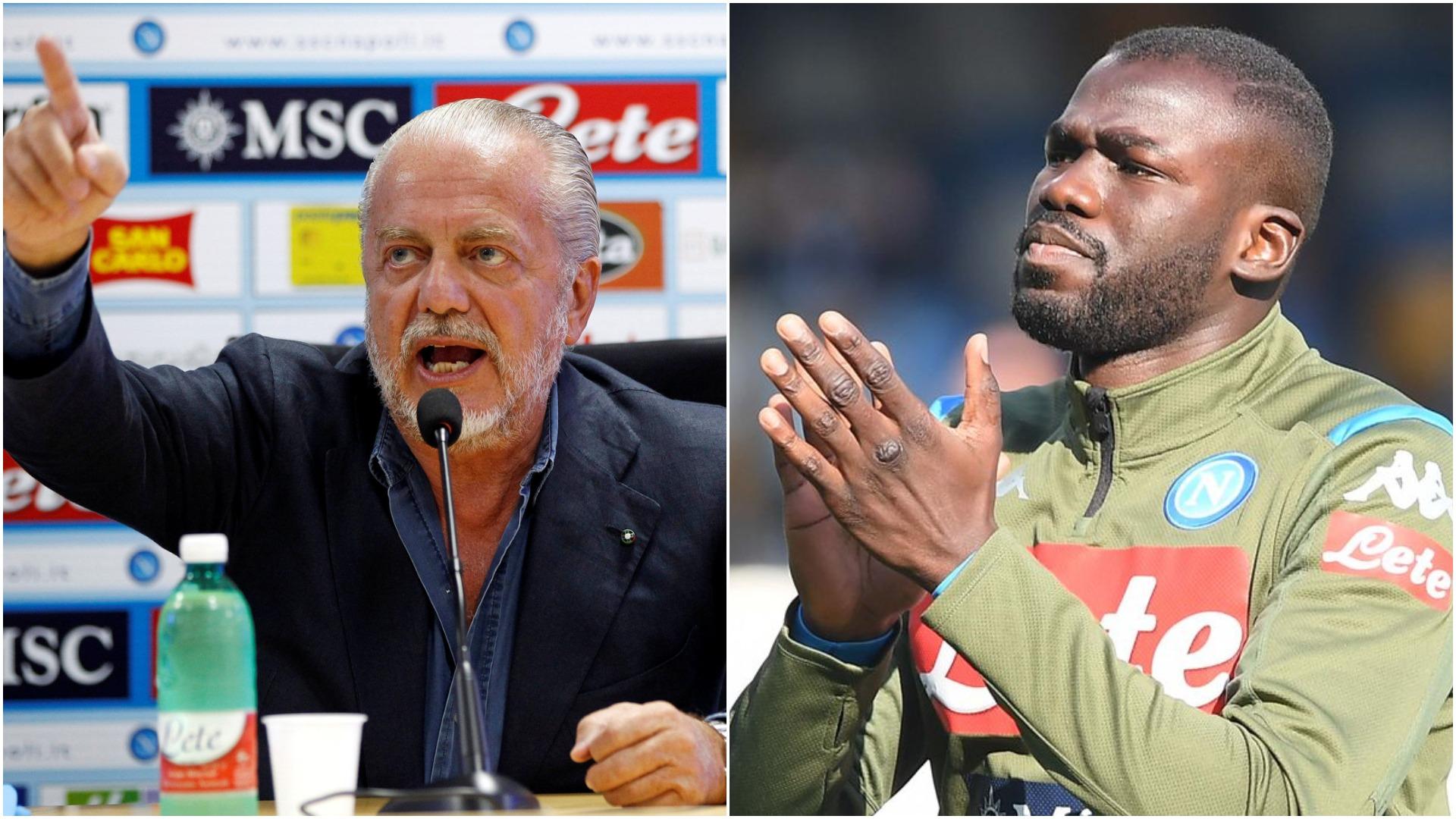 Di Laurentiis: Koulibaly? Vetëm United, City dhe PSG mund të paguajnë!