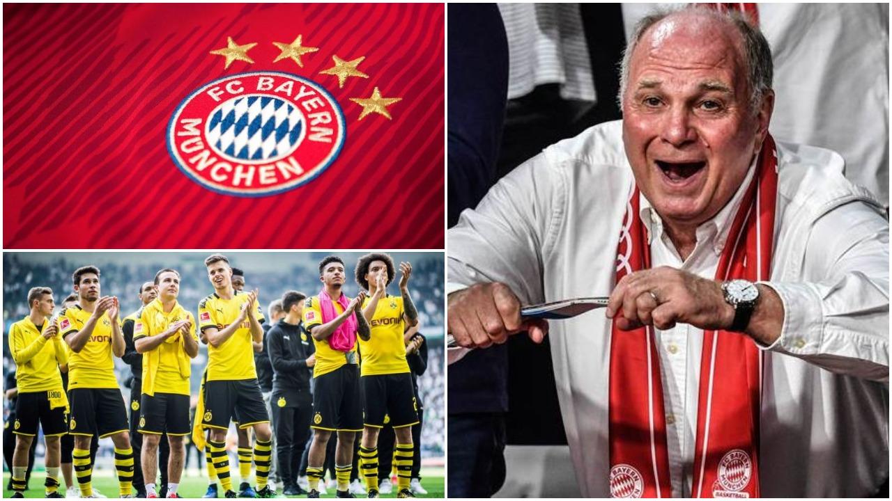 """Hoeness """"sulmon"""" Dortmund: Ata e kanë mendjen për biznes, Bayerni special"""