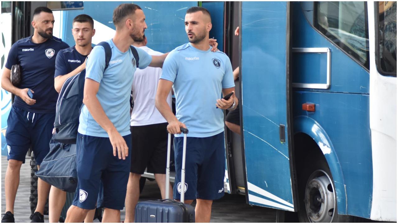 Sfida ndaj Slavia Sofia, Gega përzgjedh titullarët e Kukësit