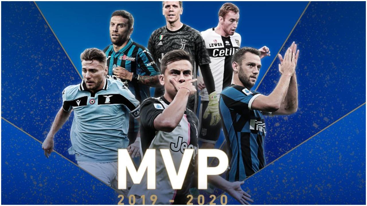 Liga e Serie A zgjedh më të mirët e sezonit, triumfon një juventin