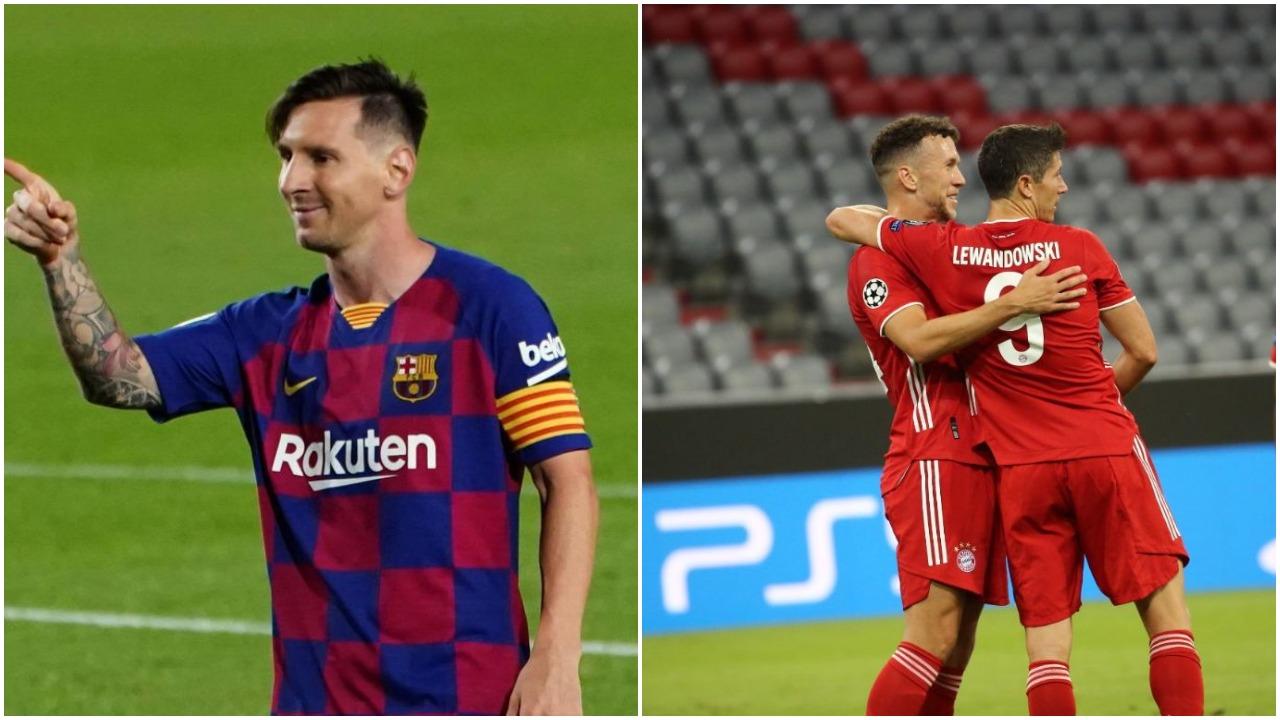 """VIDEO/ Mbrëmje golash në Champions: Leo Messi dhuron """"show"""", Bayerni i pandalshëm"""