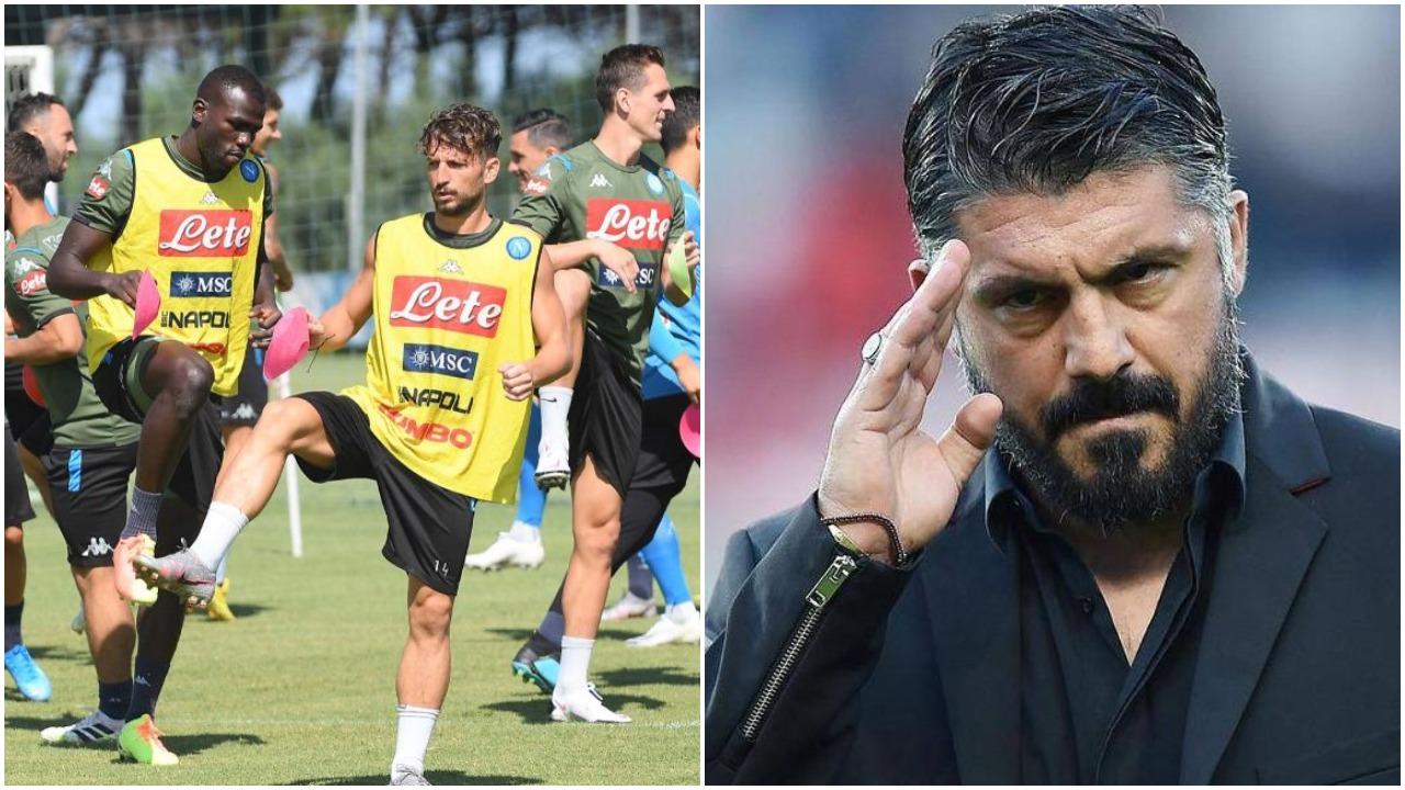 Rikuperohet kapiteni: Çlirohet Gattuso, Napoli i plotë ndaj Barcelonës