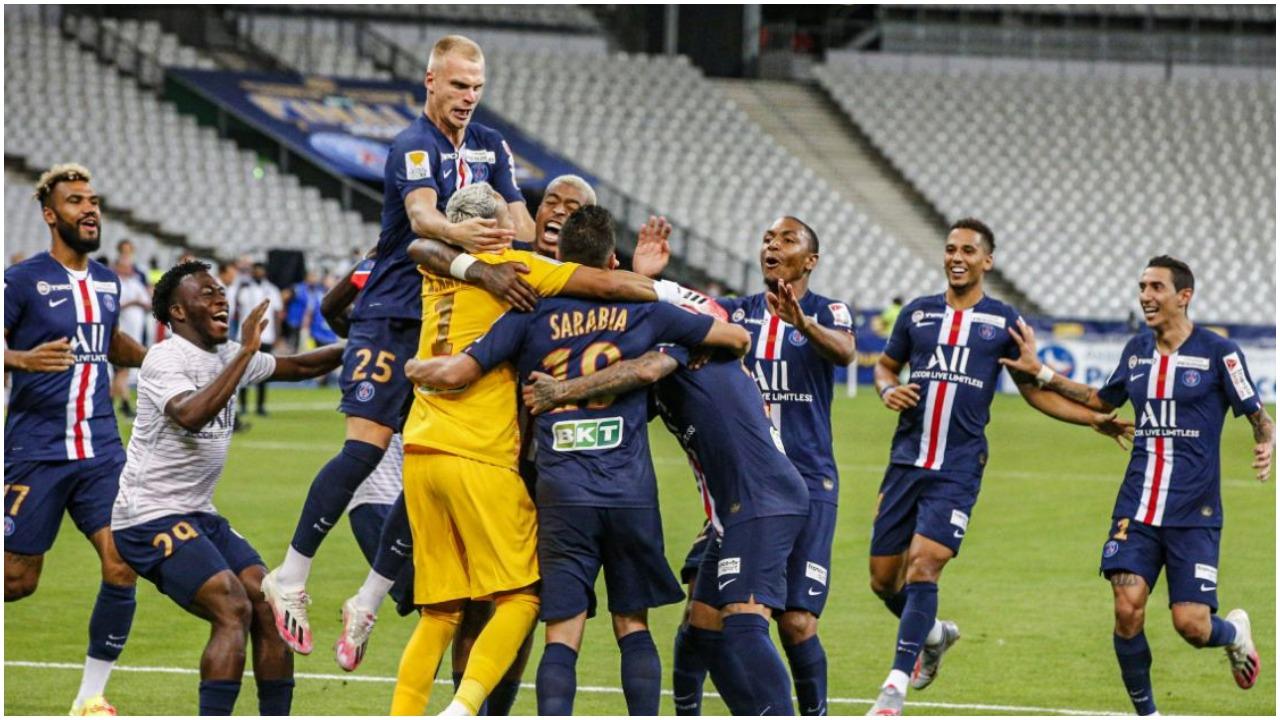 """PSG """"rrëmben"""" edhe Kupën e Ligës, mposht Lyon pas goditjeve të penalltive"""