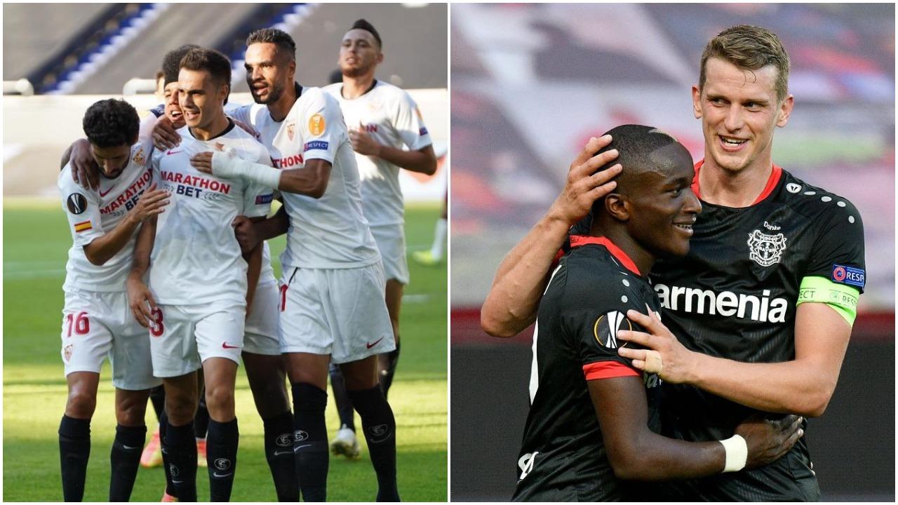 VIDEO/ Sevilla shumë e fortë për Romën, Leverkusen-Inter në çerekfinale