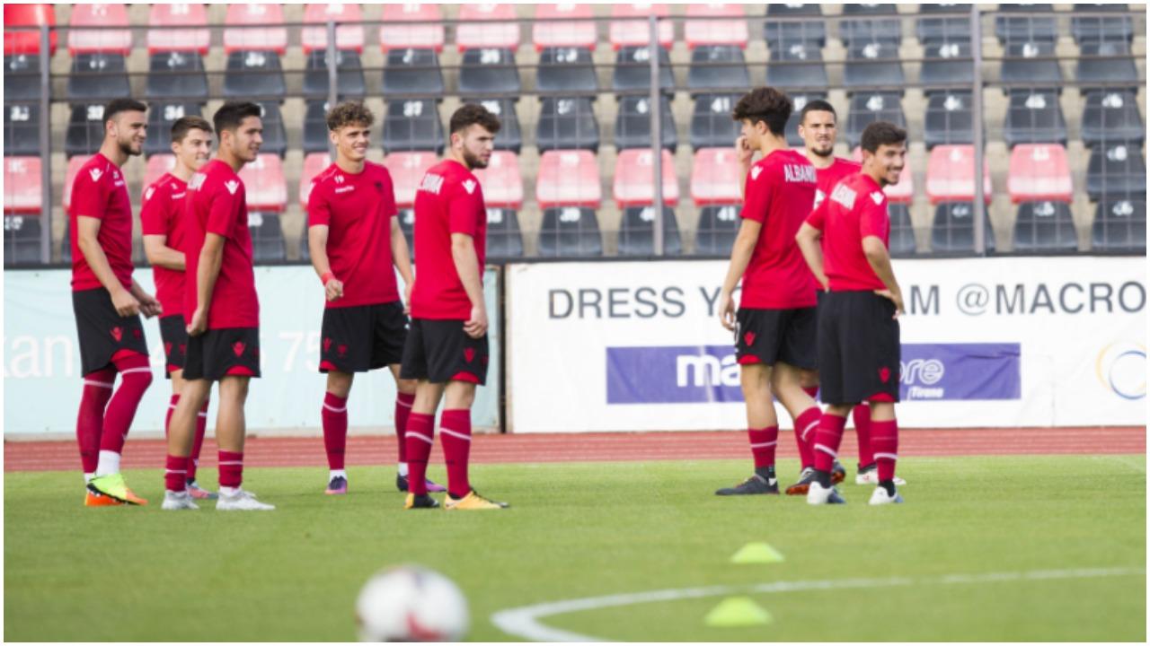 Ndryshon Shqipëria U-21, katër emra të rinj në listën e Alban Bushit
