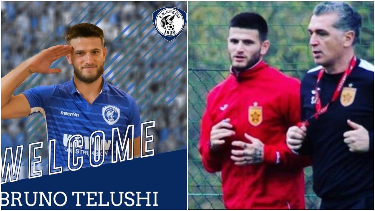"""Ekipi i ri, trajneri Gega, objektivat dhe Slavia: Rrëfehet """"kuksiani"""" Telushi"""