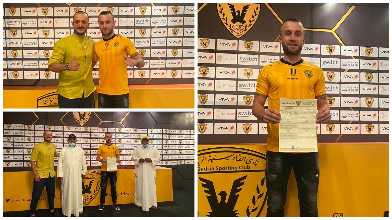 Zyrtarisht i Al Qadsia, Lorenc Trashi firmos kontratën e jetës
