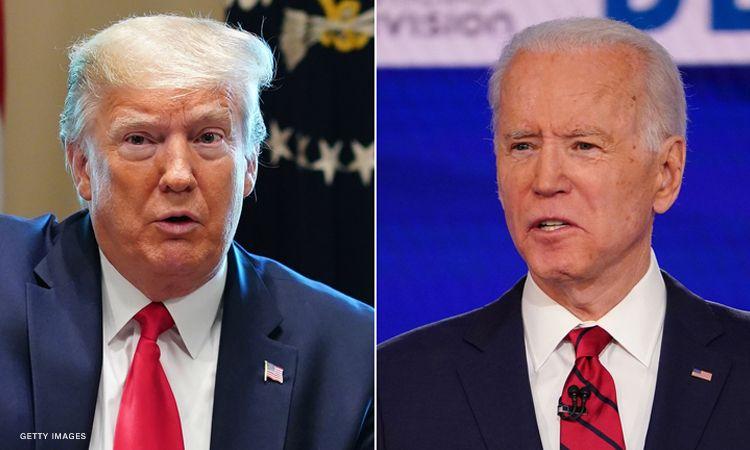 """Sondazhet: Biden """"mposht"""" Trump"""