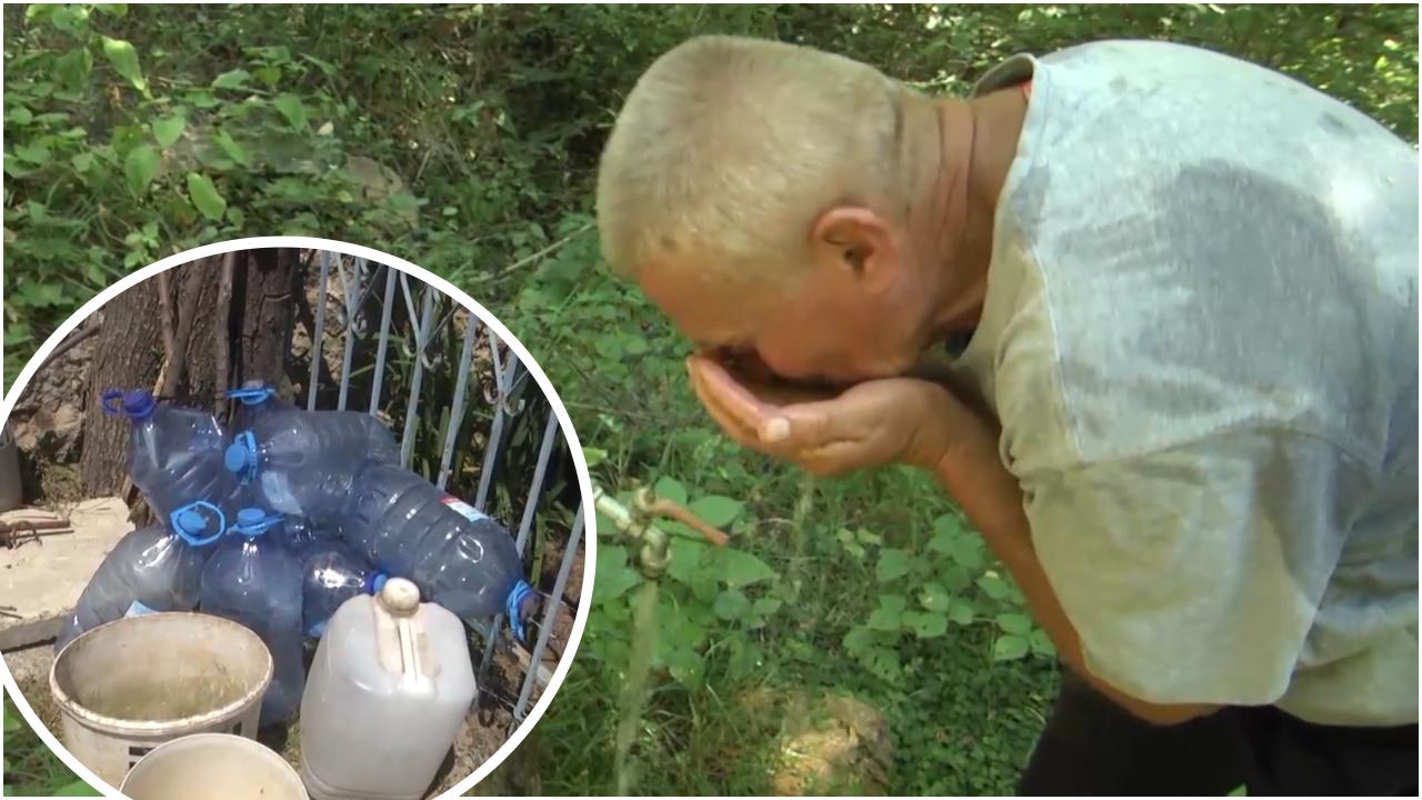 Klos, banorët e Unjatës prej 30 vitesh pa ujë të pijshëm, përdorin burime ujore të pakontrolluara