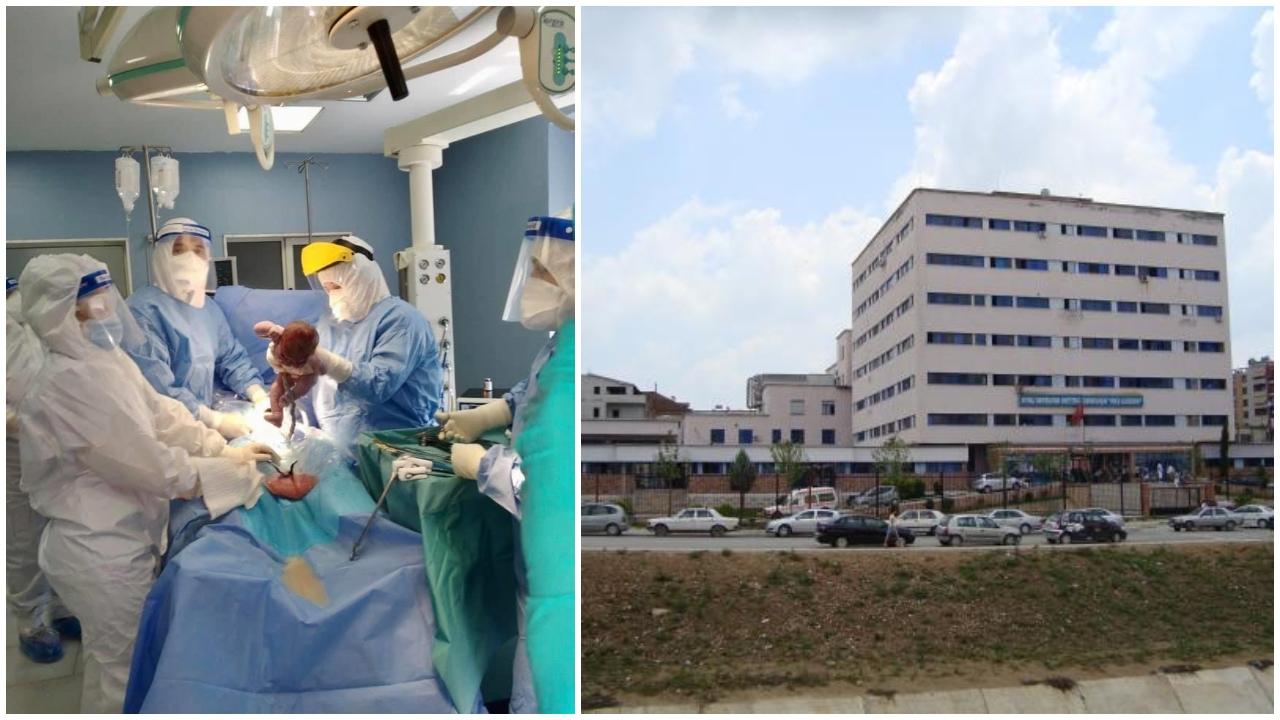 """Nëna e infektuar me Covid-19 sjell në jetë foshnjën te """"Koço Gliozheni"""""""