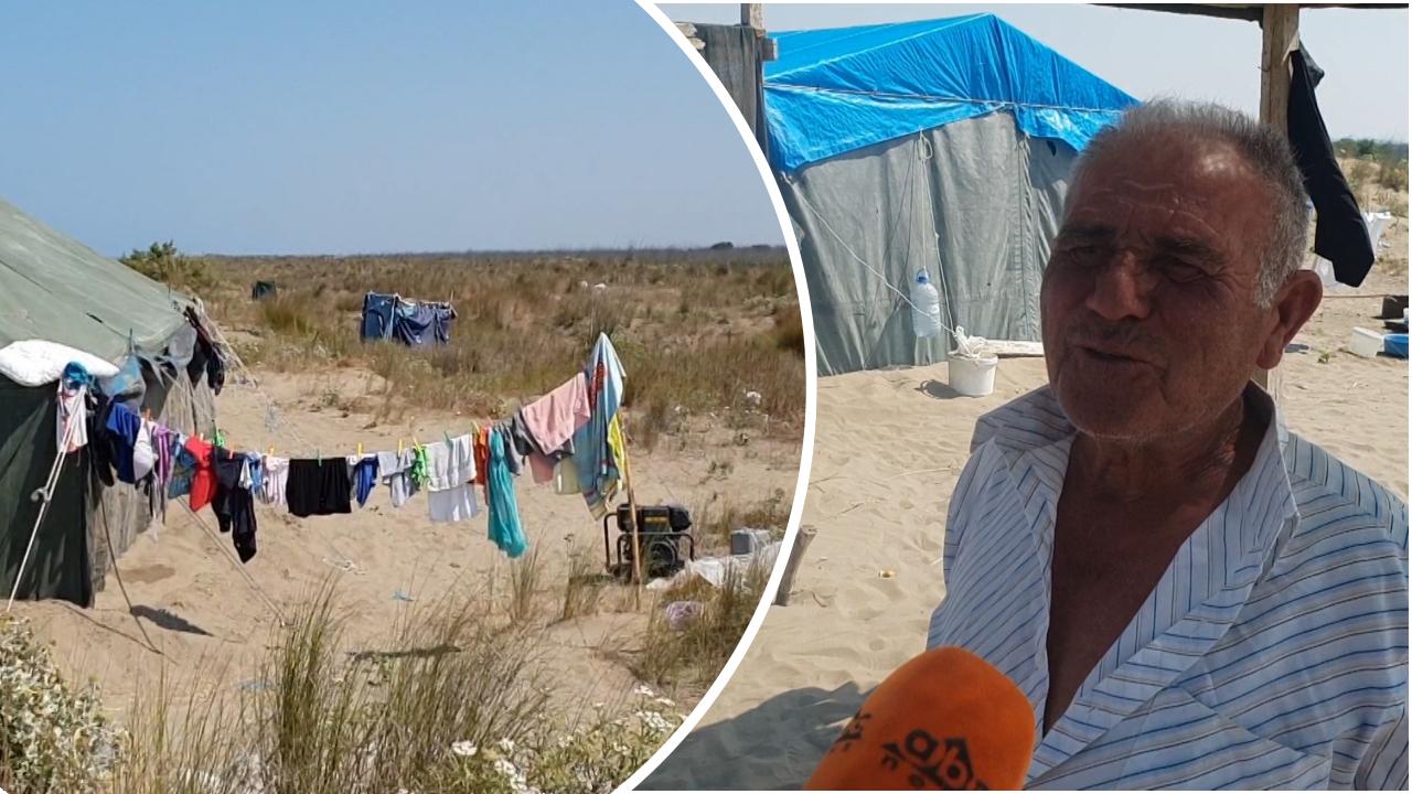 """Plazhi i """"fshehur"""" i Ndërnenasit në Fier nuk braktiset as këtë vit nga pushuesit tradicionalë"""