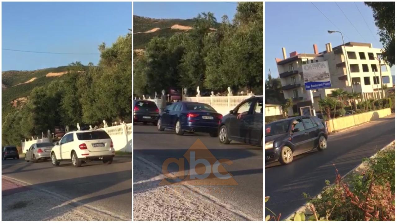 Radhë të gjata automjetesh, trafik i rënduar në Orikum-Radhimë