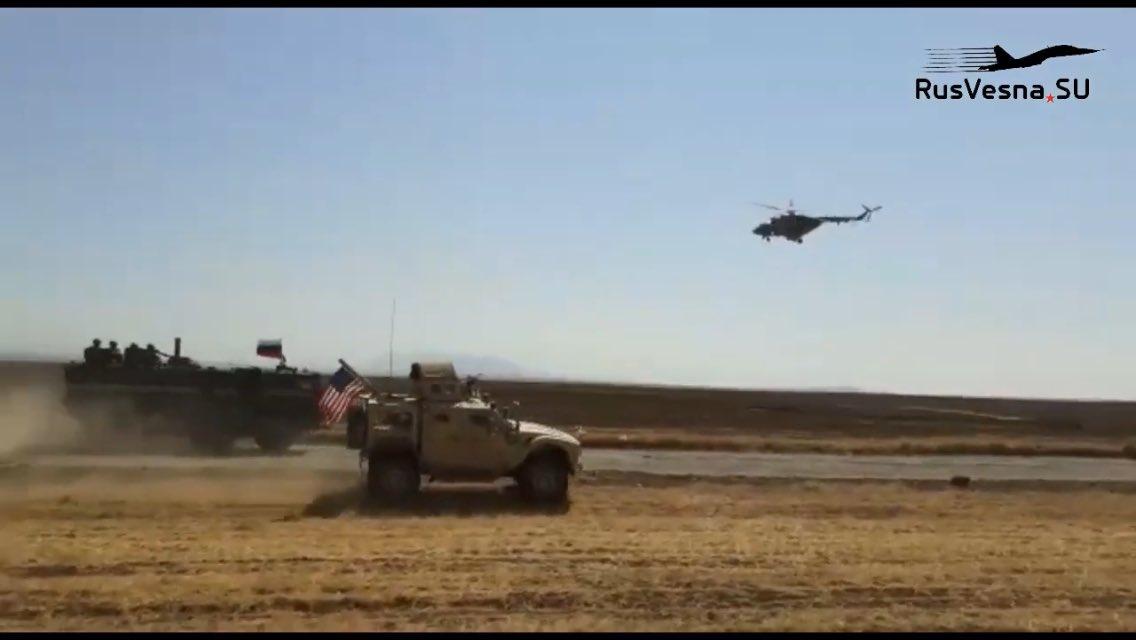 VIDEO/ Imazhe lufte, dalin pamjet e përplasjes mes rusëve dhe amerikanëve në Siri