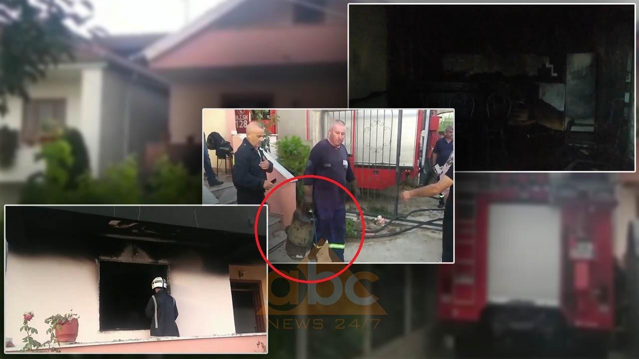 Shpërthimi në Pogradec, i zoti i shtëpisë po bënte kafen, dërgohet me urgjencë në Tiranë