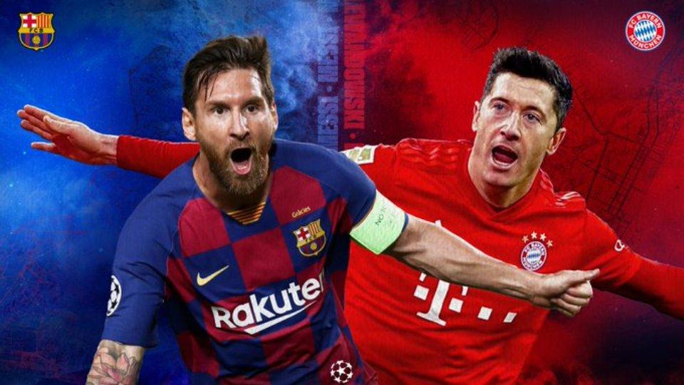 Përballje titanësh në Champions League, si rreshtohen Bayern e Barcelona