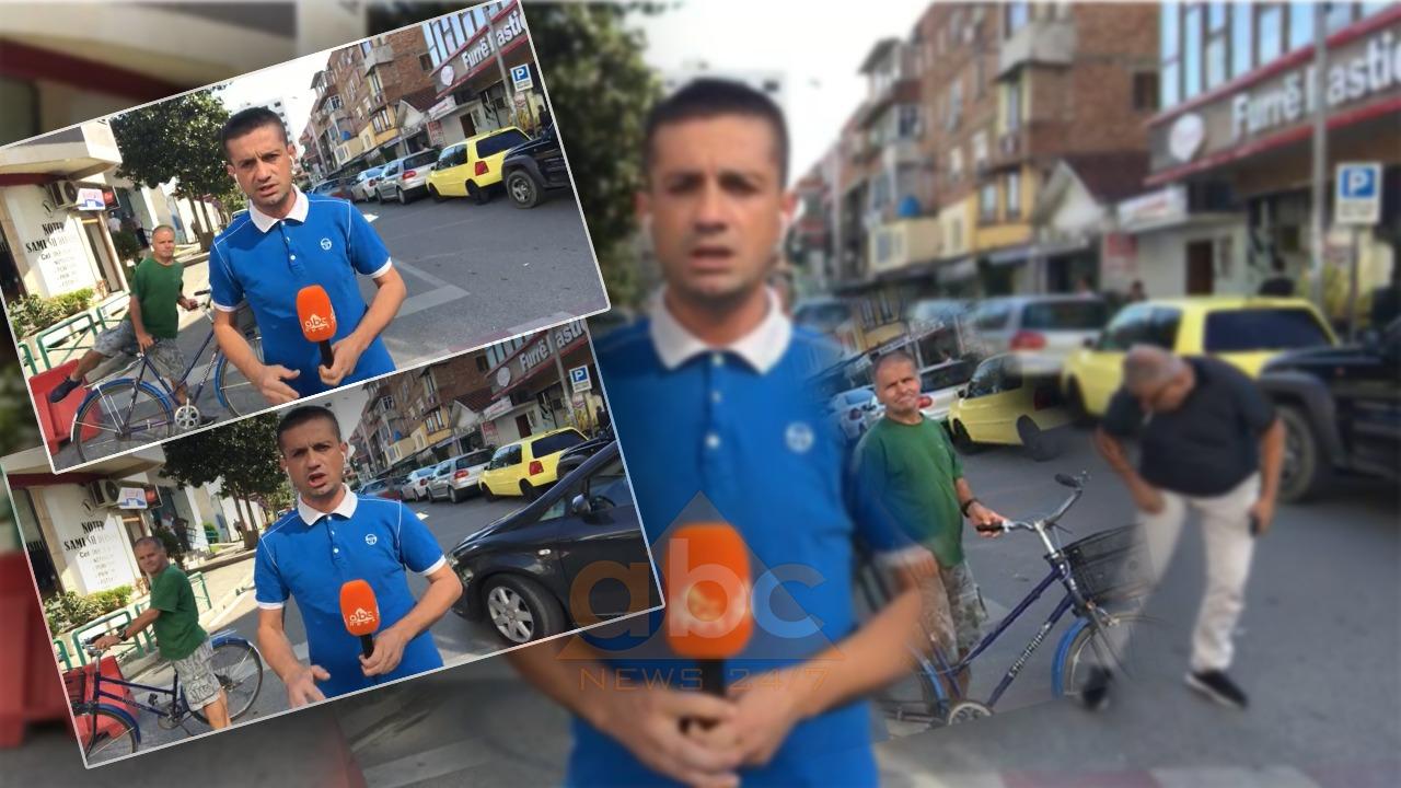 VIDEO/ Qytetari me biçikletë fiksohet me kamerën, në fund ndodh një incident