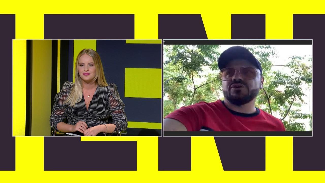 """Ervin Bushati në Friendzone flet për versionin më të ri të këngës """"Molla"""""""