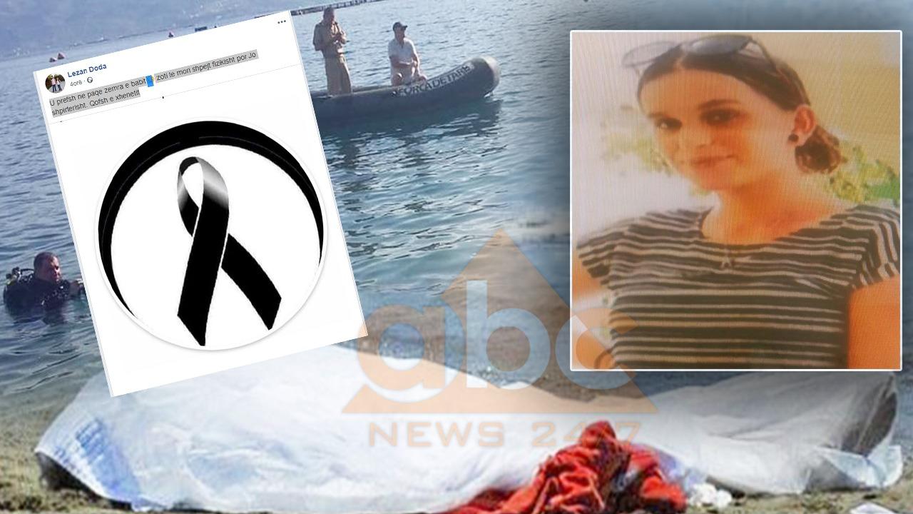 Vajza e tij u mbyt në Velipojë pas xhiros me motor uji, babai bën dedikim prekës