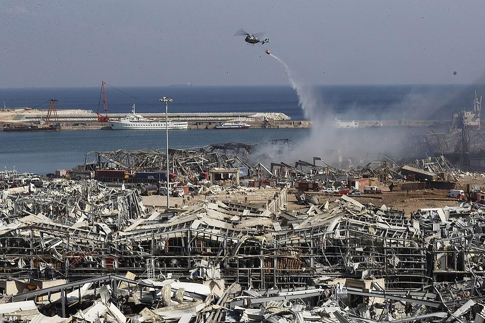Të paktën 135 persona të vdekur dhe 5,000 të lënduar nga shpërthimi katastrofik në Beirut