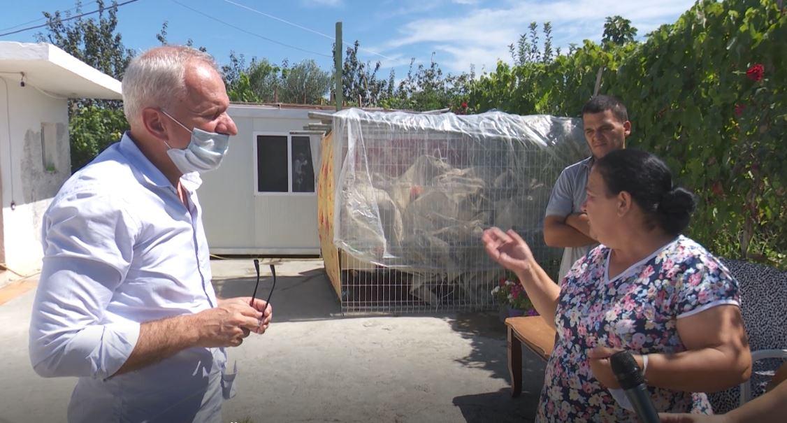 Xhaferraj në banesën e dëmtuar nga tërmeti, kryefamiljarja: Nuk po gjej zgjidhje