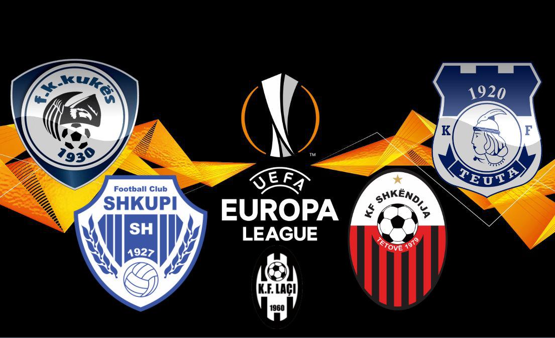 """Europa League flet shqip sot, shtatë klube """"mprehin shpatat"""""""
