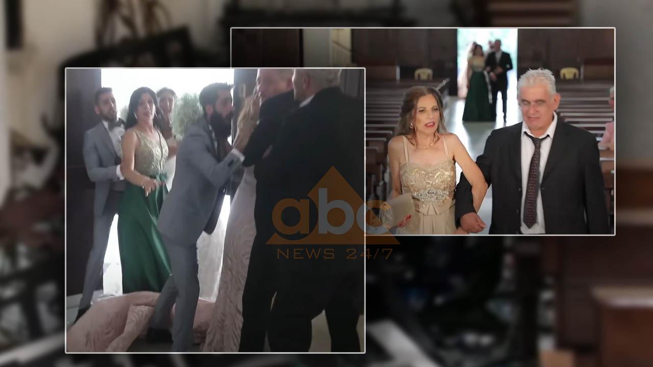 Pamjet dramatike tregojnë martesën e ndërprerë nga shpërthimet në Bejrut