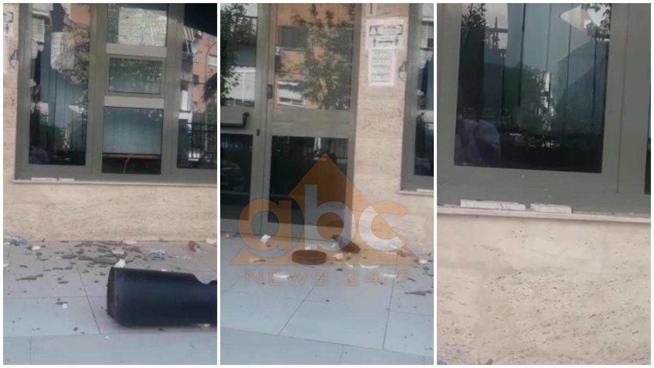 Një person thyen xhamat e godinës te Prokuroria e Tiranës