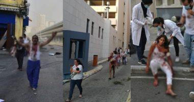"""Pamjet e trishta nga """"katastrofa"""" në Beirut, terror dhe plagë në fytyrat e banorëve"""
