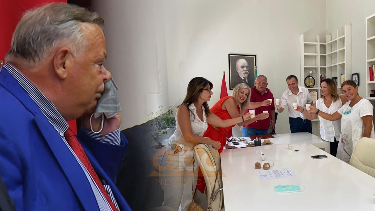 """Dje fshiu djersët, sot e hoqi fare: Rektori i """"Mjekësisë"""", s'i ka fare mirë raportet me maskën"""