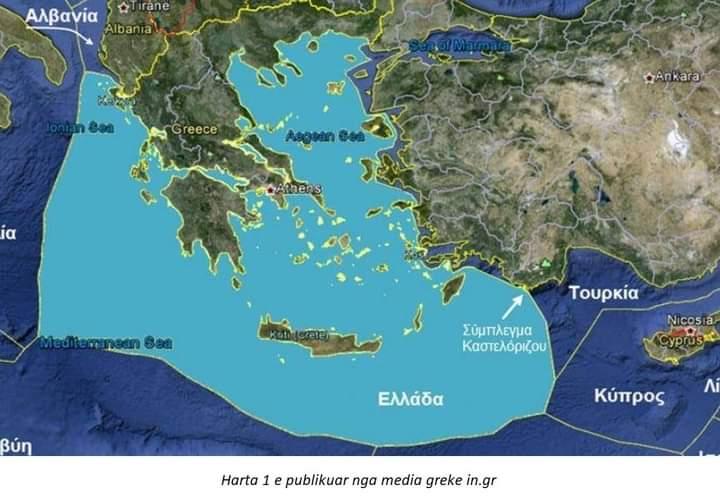 Analiza e profesorit grek: Çfarë fshihet pas zgjerimit me 12 milje në detin Jon
