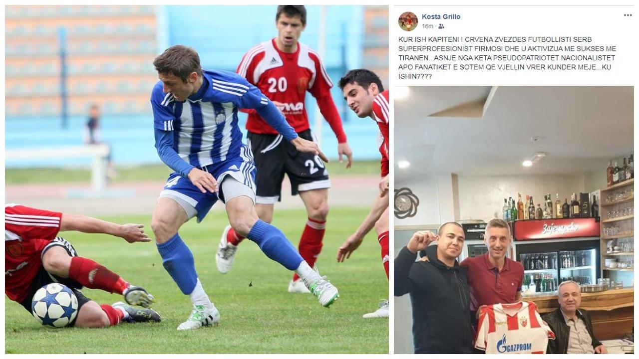 Kosta Grillo nuk duron më: Ku ishit ju nacionalistët kur erdhi kapiteni i Crvena?