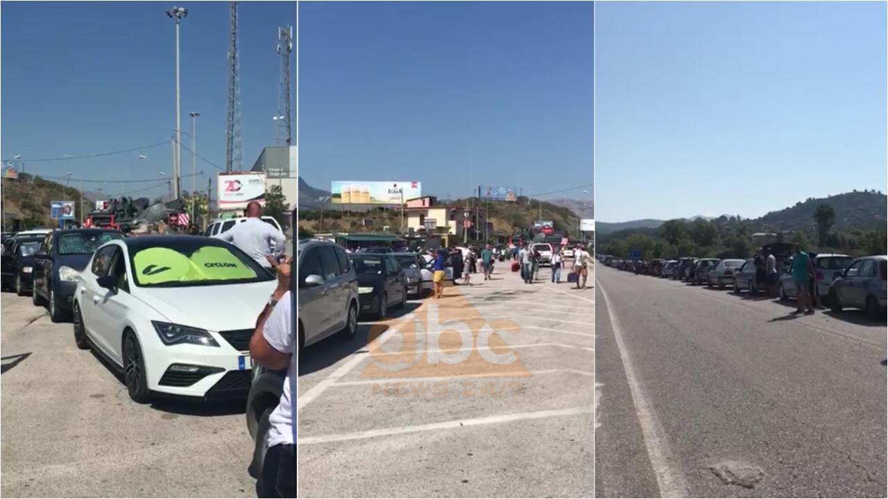 Karantina dhe tamponët shkaktojnë radhë të gjata shqiptarësh në Kakavijë