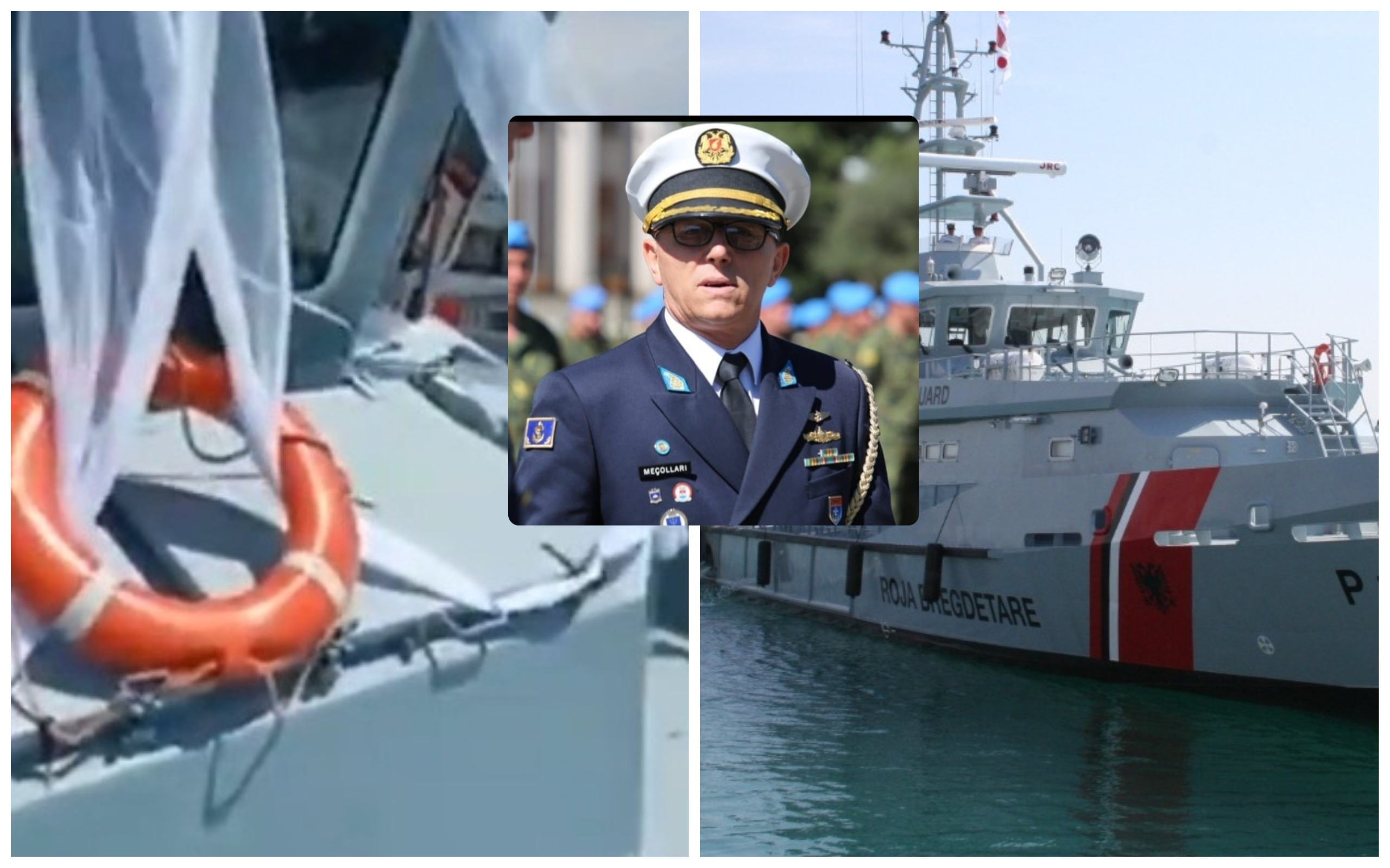 Dalin pamjet, kjo është video që i kushtoi postin zv.komandantit të Forcës Detare