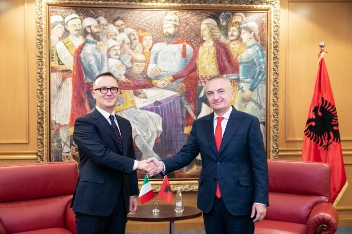Meta pret në Presidencë ekipin e mjekëve italianë, i pranishëm edhe ambasadori Fabrizio Bucci