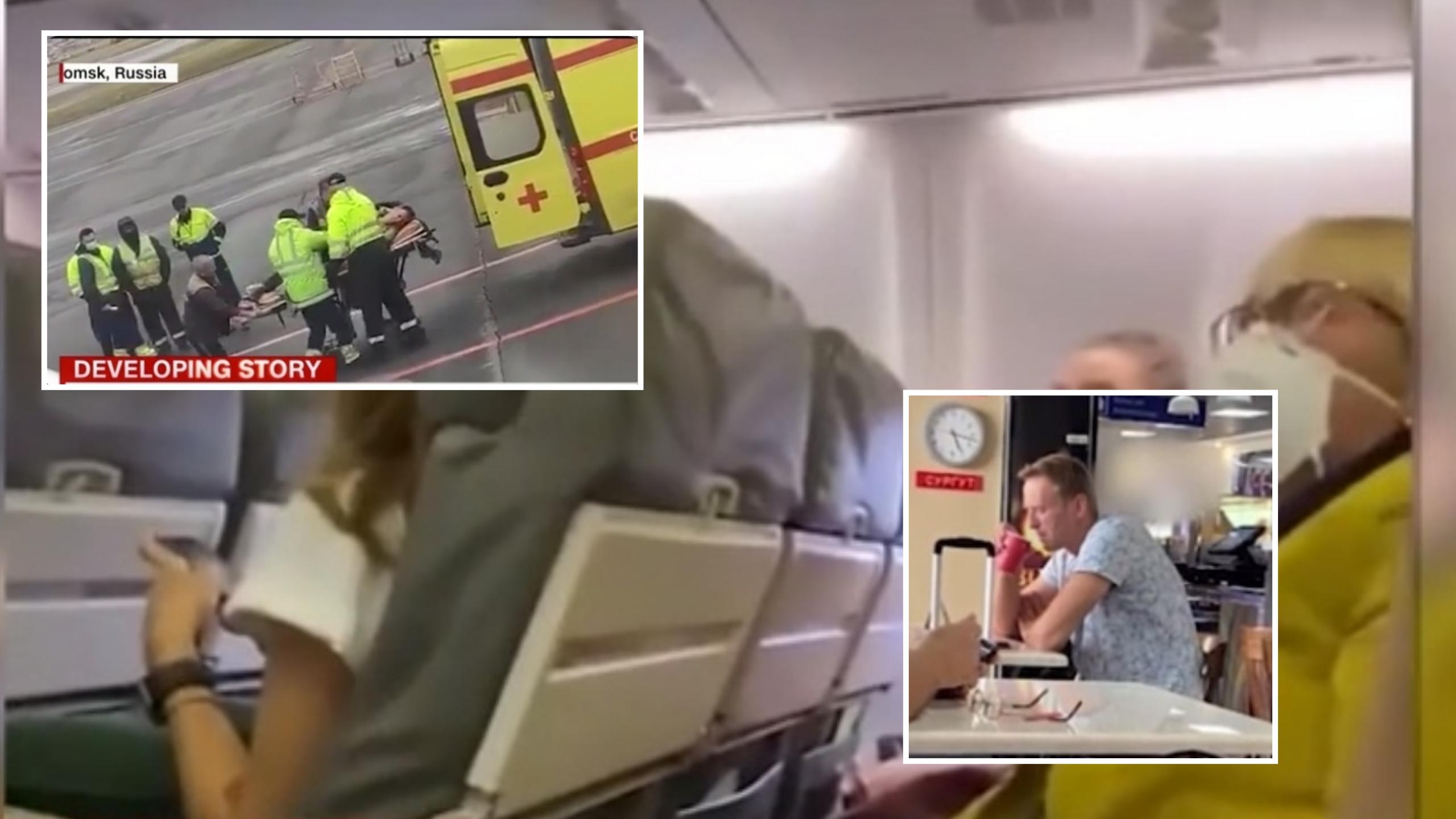 Del videoja horror nga avioni, ulërimat e kundërshtarit të Putinit pas helmimit