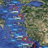 """""""Në rast lufte, këta janë ishujt e parë grekë që do të pushtohen"""": Harta turke shkakton alarm në Greqi"""