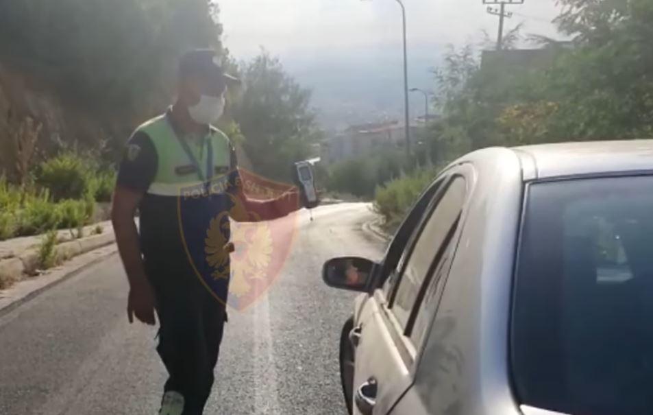Policia Rrugore në aksion, arrestohen 9 shoferë dhe pezullohen 137 patenta