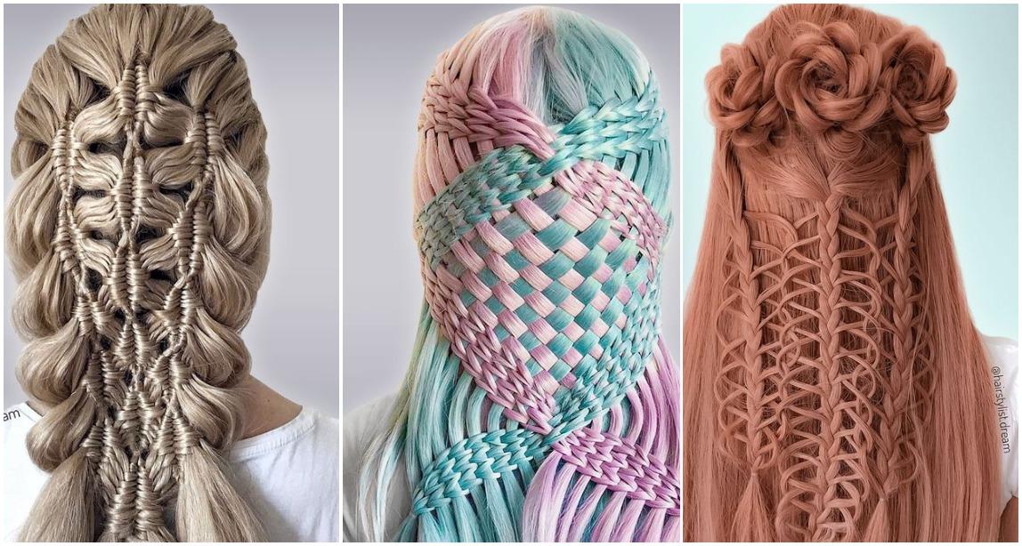 Adoleshentja që bën mrekulli me flokët, krijon modele unike